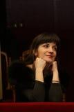 En el teatro de la ópera Foto de archivo