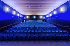 En el teatro del cine imagen de archivo libre de regalías