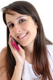 En el teléfono Imágenes de archivo libres de regalías