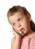 En el teléfono imagenes de archivo