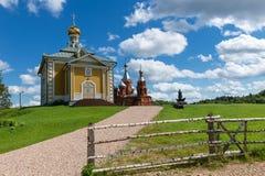 En el territorio del monasterio Imagen de archivo libre de regalías
