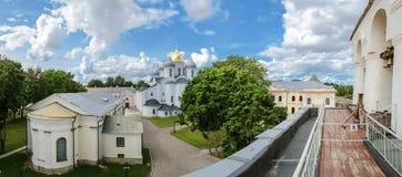 En el territorio del Novgorod el Kremlin Imagenes de archivo
