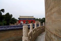 En el territorio del Templo del Cielo), Pekín, China Fotos de archivo libres de regalías