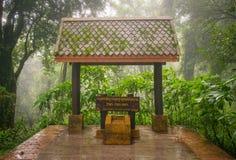 En el top de Tailandia 2565 metros desde arriba del nivel del mar Imágenes de archivo libres de regalías