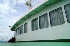 En el transbordador Foto de archivo