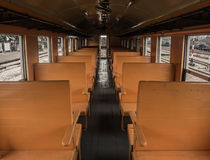 En el tren foto de archivo libre de regalías