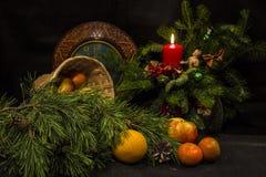 En el umbral del Año Nuevo Imagen de archivo libre de regalías
