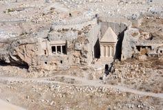 En el valle de Kidron Foto de archivo