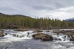 En el valle de Namsen Imagen de archivo libre de regalías
