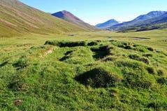En el valle de Thorvald Fotos de archivo