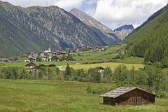 En el valle de Vals Foto de archivo
