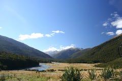 En el valle, Nueva Zelandia fotografía de archivo libre de regalías