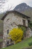En el valleyl de Valle di Ronchi Foto de archivo libre de regalías