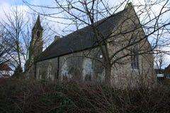 En engelsk kyrka i London royaltyfri foto