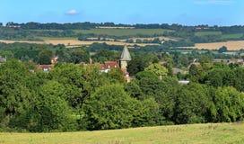 En engelsk stad i Kent arkivfoton