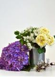 En enkel blom- ordning Arkivbilder