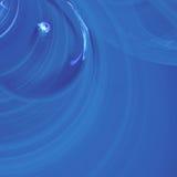 En enkel konstituent av neutronen som lämnar Atom In The Center av ett svart hål, så att det May att skapa fysiken | Fractalkonst Arkivbild