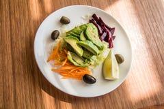En enkel lunch i lite stad i Chile Royaltyfria Bilder
