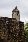 En enslig watchtower Arkivbild