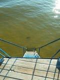 En escalera del agua Fotografía de archivo libre de regalías