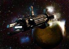 En espacio profundo Foto de archivo libre de regalías