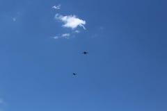 En este cielo Foto de archivo libre de regalías