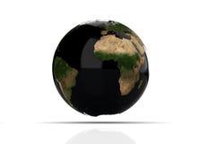 En färgglad 3d framförd jord Arkivbilder