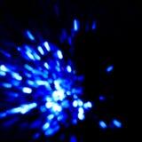 En fångad ensamvarg Visualization av en anda som avskiljs från a Arkivbild