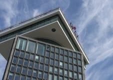 'En FÖRDÄMNING Toren fotograferade från turnerar fartyget, Nederländerna arkivfoton