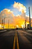 Denver kraftverk Arkivbild