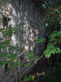 En förstörd fabrik Royaltyfri Fotografi