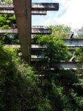 En förstörd fabrik Royaltyfri Foto