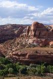 En fantastisk sikt av Utah landskap Royaltyfri Bild