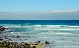En favorit- surfa fläck på den australiska Stillahavskusten i Apoll arkivbilder