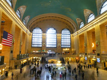 En festlig Grand Central station Royaltyfria Foton