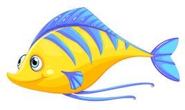 En fisk royaltyfri illustrationer