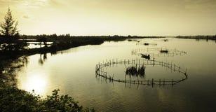 Hoi-an lakes, vietnam 8 Royaltyfria Foton