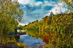 En fjord Codlata royaltyfria foton