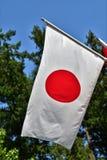 En flagga av Japan royaltyfria foton