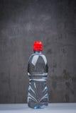 En flaska av nytt och kallt vatten Royaltyfria Bilder