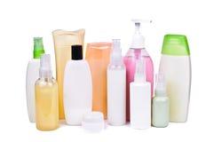 En flaska av shampoo Arkivbilder