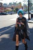 En flicka i Los Angeles Royaltyfri Foto
