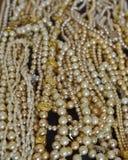 En flod av pärlor Arkivfoto