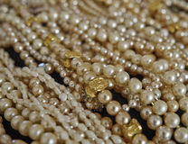 En flod av pärlor Royaltyfri Foto