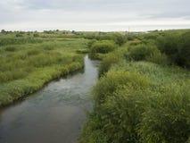 En flod kallade Glogen i Inner Mongolia Royaltyfria Bilder