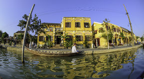 Den Hoi-an flodstranden beskådar 2 Royaltyfria Foton