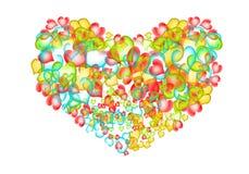 En forma de corazón. Imagen de archivo