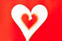 En forma de corazón fotos de archivo