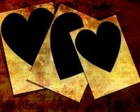 En forme de coeur Photos libres de droits