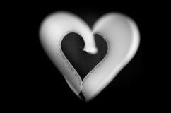 En forme de coeur Photographie stock libre de droits